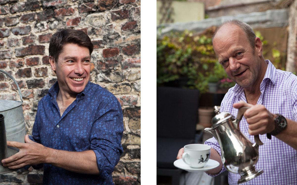 Gastgeber Geert und Henri heißen Sie willkommen im romantischen Bed and Breakfast Maison Amodio in Brügge.